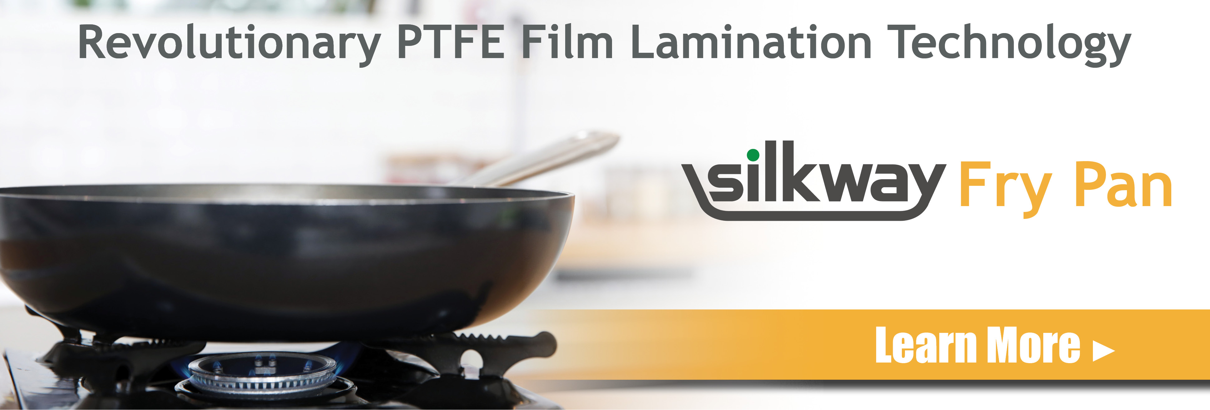 Silkway Fry Pan Offered Exclusively By Chefs Planet Revolutionary Nonstick Film Lamination Technology