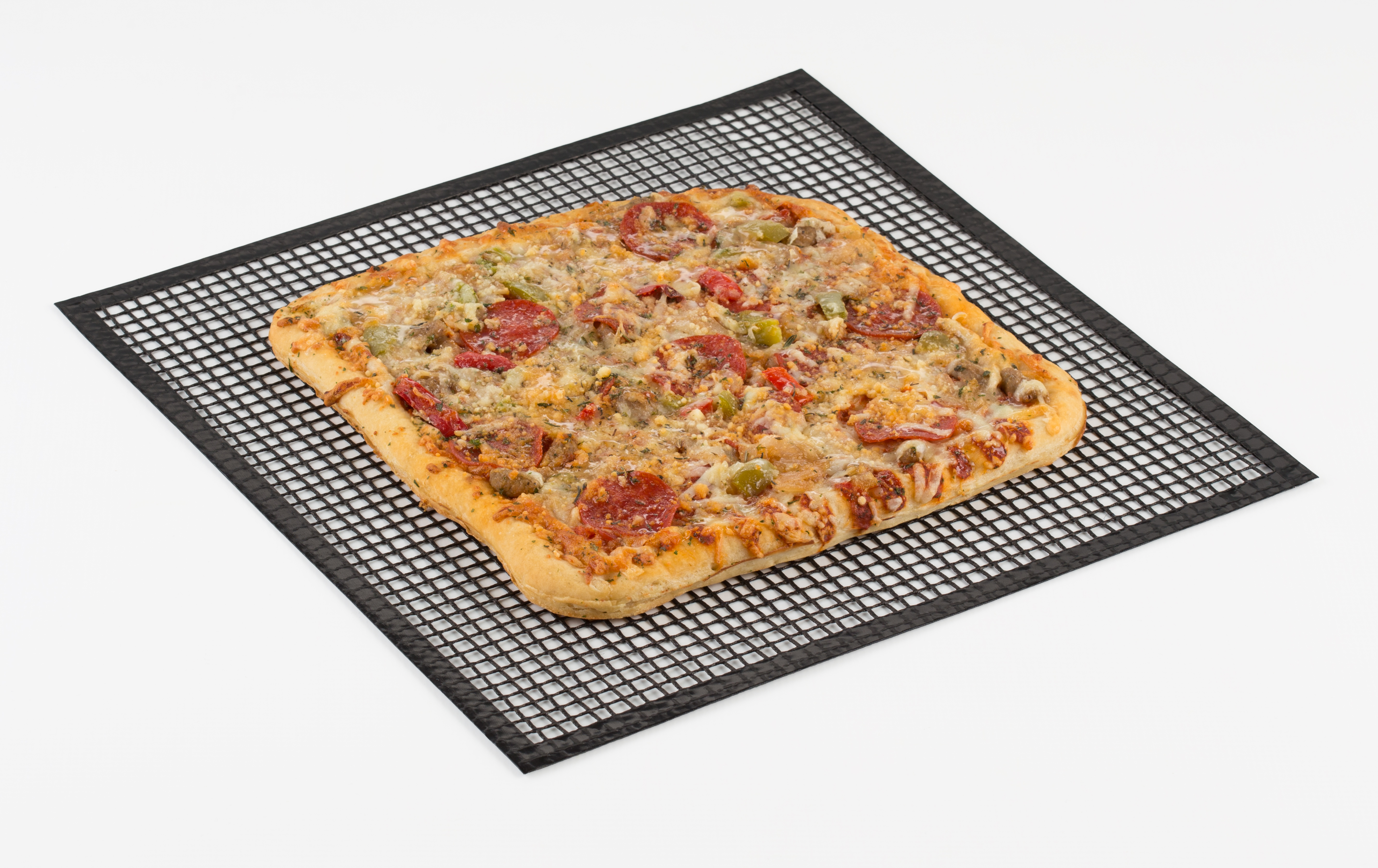 Chefs Planet New and Improved Mesh Crisper Pizza