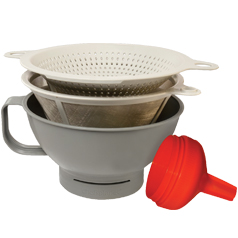multipurpose filter funnel set