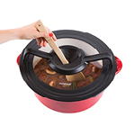 universal stir-through lid